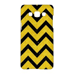 Chevron9 Black Marble & Yellow Colored Pencil Samsung Galaxy A5 Hardshell Case