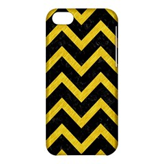 Chevron9 Black Marble & Yellow Colored Pencil (r) Apple Iphone 5c Hardshell Case