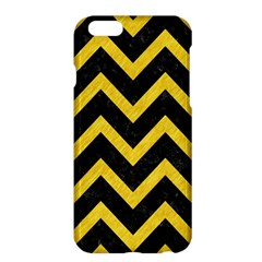 Chevron9 Black Marble & Yellow Colored Pencil (r) Apple Iphone 6 Plus/6s Plus Hardshell Case