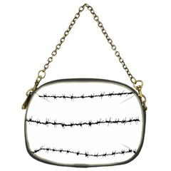 Barbed Wire Black Chain Purses (one Side)
