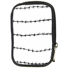 Barbed Wire Black Compact Camera Cases