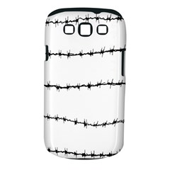 Barbed Wire Black Samsung Galaxy S Iii Classic Hardshell Case (pc+silicone)