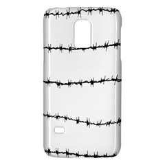 Barbed Wire Black Galaxy S5 Mini