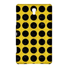 Circles1 Black Marble & Yellow Colored Pencil Samsung Galaxy Tab S (8 4 ) Hardshell Case