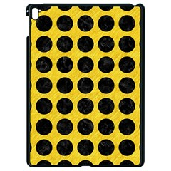 Circles1 Black Marble & Yellow Colored Pencil Apple Ipad Pro 9 7   Black Seamless Case
