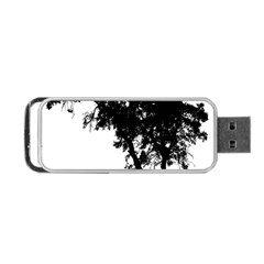 Black Father Daughter Natural Hill Portable Usb Flash (two Sides)