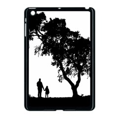 Black Father Daughter Natural Hill Apple Ipad Mini Case (black)