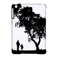 Black Father Daughter Natural Hill Apple Ipad Mini Hardshell Case (compatible With Smart Cover)