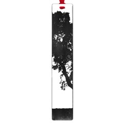 Black Father Daughter Natural Hill Large Book Marks