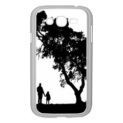 Black Father Daughter Natural Hill Samsung Galaxy Grand Duos I9082 Case (white)