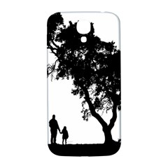 Black Father Daughter Natural Hill Samsung Galaxy S4 I9500/i9505  Hardshell Back Case