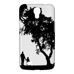 Black Father Daughter Natural Hill Samsung Galaxy Mega 6 3  I9200 Hardshell Case