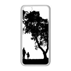 Black Father Daughter Natural Hill Apple Iphone 5c Seamless Case (white)