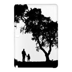 Black Father Daughter Natural Hill Samsung Galaxy Tab Pro 10 1 Hardshell Case