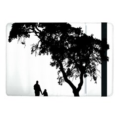 Black Father Daughter Natural Hill Samsung Galaxy Tab Pro 10 1  Flip Case