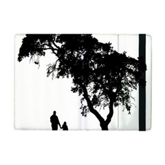 Black Father Daughter Natural Hill Ipad Mini 2 Flip Cases