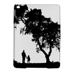 Black Father Daughter Natural Hill Ipad Air 2 Hardshell Cases