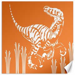 Animals Dinosaur Ancient Times Canvas 16  X 16