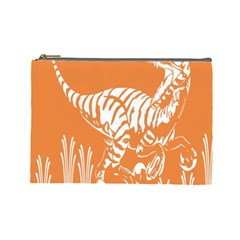 Animals Dinosaur Ancient Times Cosmetic Bag (large)
