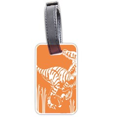 Animals Dinosaur Ancient Times Luggage Tags (two Sides)