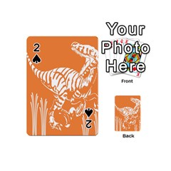 Animals Dinosaur Ancient Times Playing Cards 54 (mini)