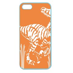 Animals Dinosaur Ancient Times Apple Seamless Iphone 5 Case (color)