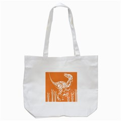Animals Dinosaur Ancient Times Tote Bag (white)