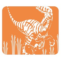 Animals Dinosaur Ancient Times Double Sided Flano Blanket (small)