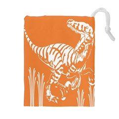 Animals Dinosaur Ancient Times Drawstring Pouches (extra Large)