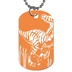 Animals Dinosaur Ancient Times Dog Tag (one Side)