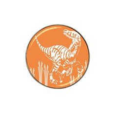 Animals Dinosaur Ancient Times Hat Clip Ball Marker (4 Pack)