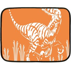 Animals Dinosaur Ancient Times Fleece Blanket (mini)