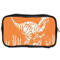 Animals Dinosaur Ancient Times Toiletries Bags 2 Side