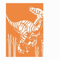 Animals Dinosaur Ancient Times Small Garden Flag (two Sides)