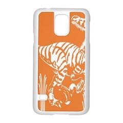 Animals Dinosaur Ancient Times Samsung Galaxy S5 Case (white)