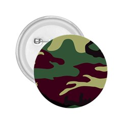 Camuflage Flag Green Purple Grey 2 25  Buttons