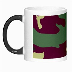 Camuflage Flag Green Purple Grey Morph Mugs
