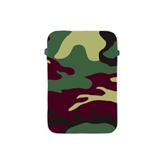 Camuflage Flag Green Purple Grey Apple Ipad Mini Protective Soft Cases