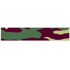 Camuflage Flag Green Purple Grey Large Flano Scarf