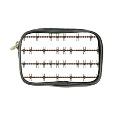 Barbed Wire Brown Coin Purse