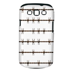 Barbed Wire Brown Samsung Galaxy S Iii Classic Hardshell Case (pc+silicone)