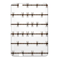 Barbed Wire Brown Kindle Fire Hd 8 9