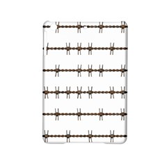 Barbed Wire Brown Ipad Mini 2 Hardshell Cases