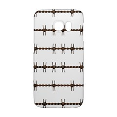 Barbed Wire Brown Galaxy S6 Edge