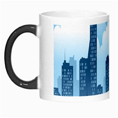 City Building Blue Sky Morph Mugs