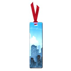 City Building Blue Sky Small Book Marks