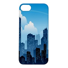 City Building Blue Sky Apple Iphone 5s/ Se Hardshell Case