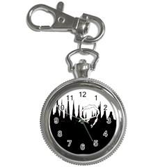 City History Speedrunning Key Chain Watches