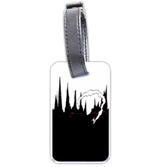 City History Speedrunning Luggage Tags (one Side)