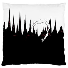 City History Speedrunning Large Flano Cushion Case (two Sides)